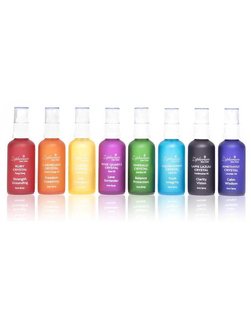 Zephorium Soul Tonic Amethyst Crystal Aura Spray 50ml