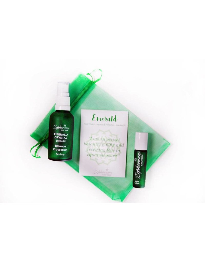 Giftset Emerald Love