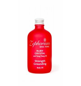 Zephorium Soul Tonic Ruby Crystal Body Oil 100ml