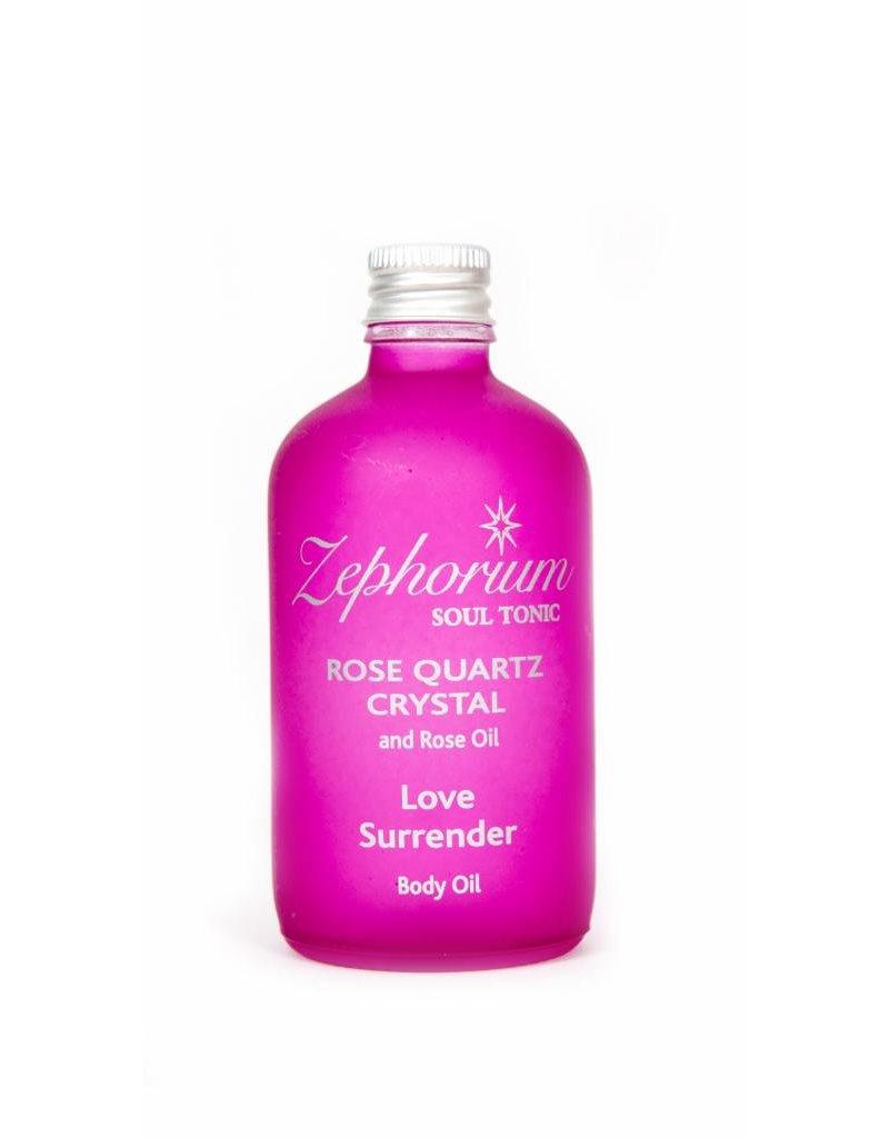 Zephorium Soul Tonic Rose Quartz Crystal Body Oil 100ml