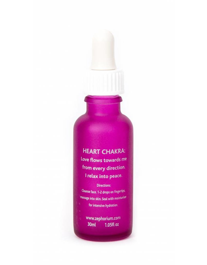 Zephorium Soul Tonic Rose Quartz Crystal Face Serum 30ml (Skin Repair)