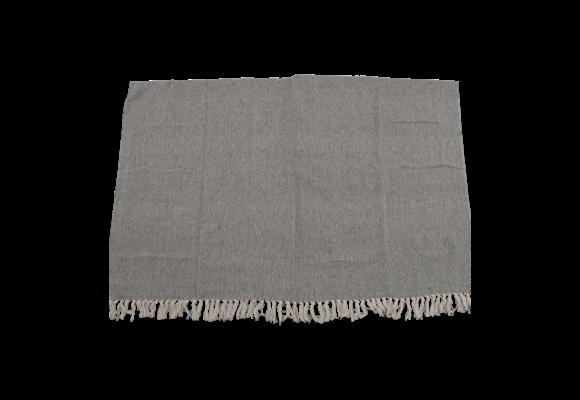 Plaid Beige/Zwart 125x150cm | Lesli Living