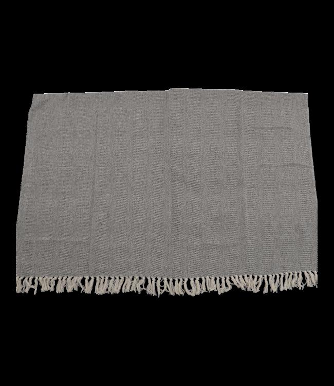 Lesli Living Plaid Beige/Zwart 125x150cm | Lesli Living