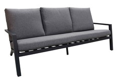Loungebank Bezano | 3-persoons | Aluminium