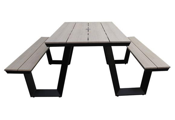 Picknicktafel Coffee Bay | Wood | Aluminium & Polywood