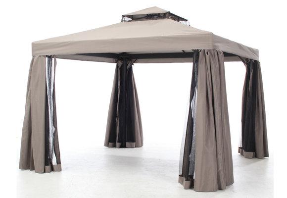 Madison Paviljoen/partytent Milaan   Taupe   300x400cm