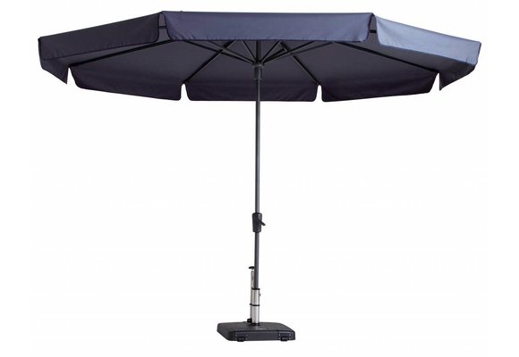 Madison Parasol | Syros Luxe Round | Safier Blue | ∅350cm