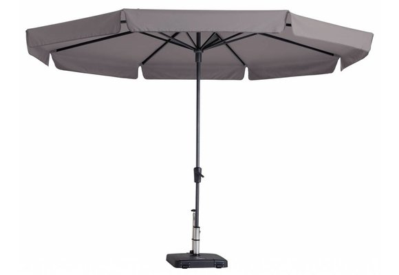 Madison Parasol | Syros Luxe Round | Taupe | ∅350cm