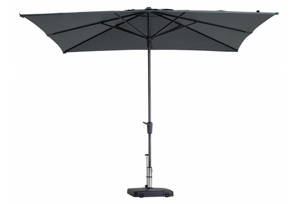 Madison Parasol | Syros Luxe Square | Grey | 280x280cm