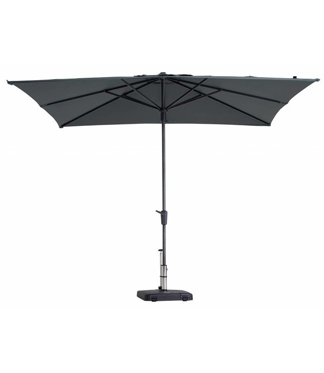 Madison Madison Parasol | Syros Luxe Square | Grey | 280x280cm
