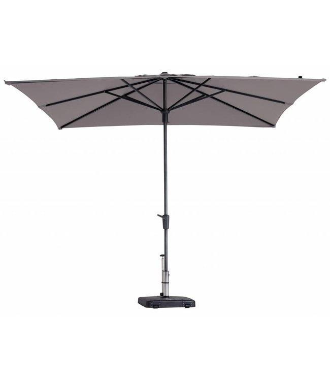 Madison Madison Parasol | Syros Luxe Square | Taupe | 280x280cm