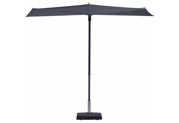Madison Parasol | Sun Wave | Grey | 270x150cm