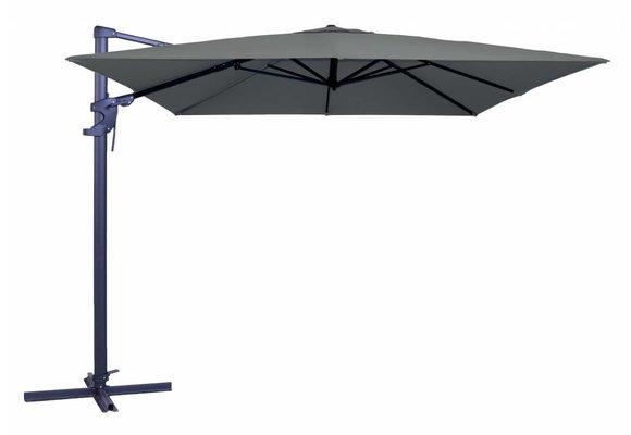 Madison Parasol | Monaco Flex II | Grey | 300x300cm