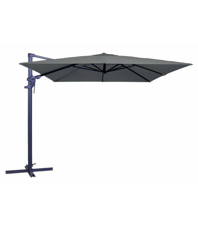 Madison Madison Parasol | Monaco Flex II | Grey | 300x300cm