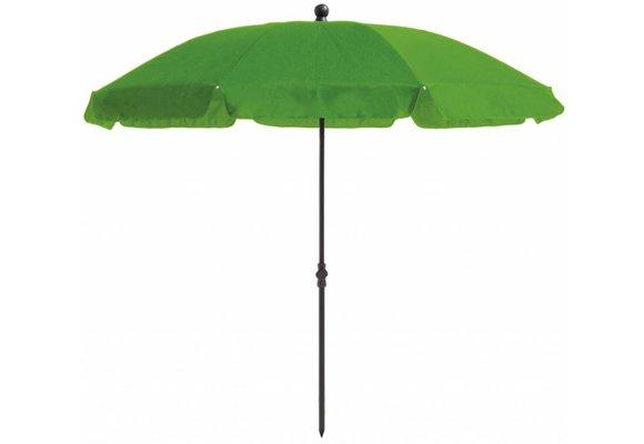 Madison Parasol | Las Palmas Round | Apple Green | ∅200cm