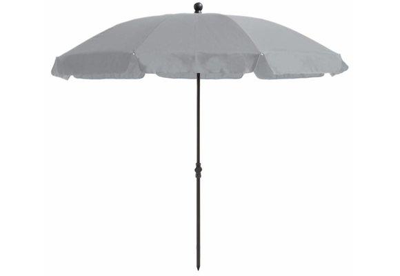 Madison Parasol   Las Palmas Round   Grey   ∅200cm