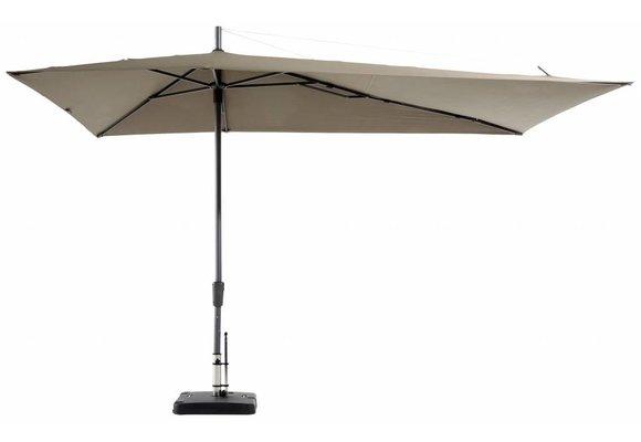 Madison Parasol | Asymetric Sideway | Taupe | 220x360cm