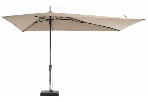 Madison Parasol | Asymetric Sideway | Ecru | 220x360cm