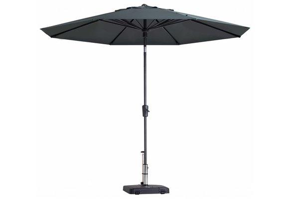 Madison Parasol | Paros Luxe Round | Grey | ∅300cm