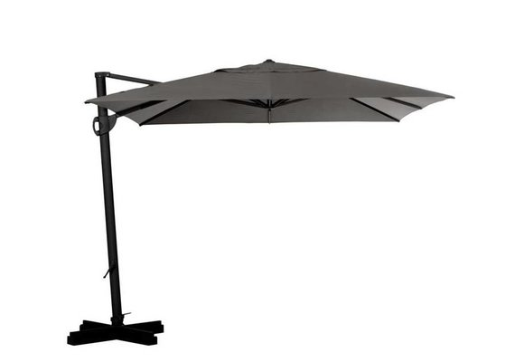 Madison Parasol | Cannes Rectangle | Grey | 300x370cm