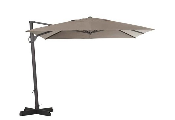 Madison Parasol | Cannes Rectangle | Taupe | 300x370cm
