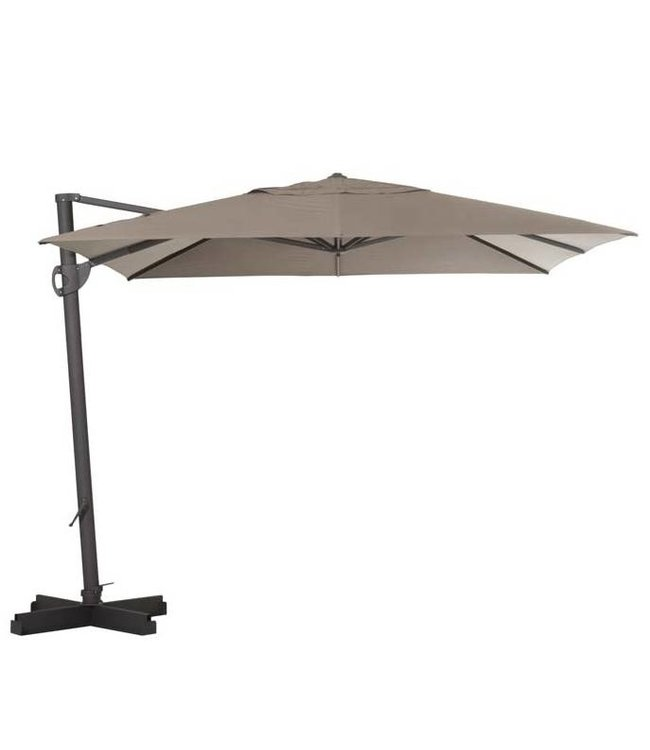 Madison Madison Parasol | Cannes Rectangle | Taupe | 300x370cm