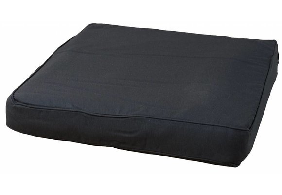 Pure Luxe Loungekussen | Panama Black | 60x60cm | Extra dik