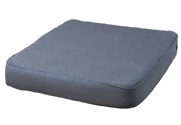 Pure Luxe Loungekussen | Outdoor Panama Grey | 73x73cm | Extra dik