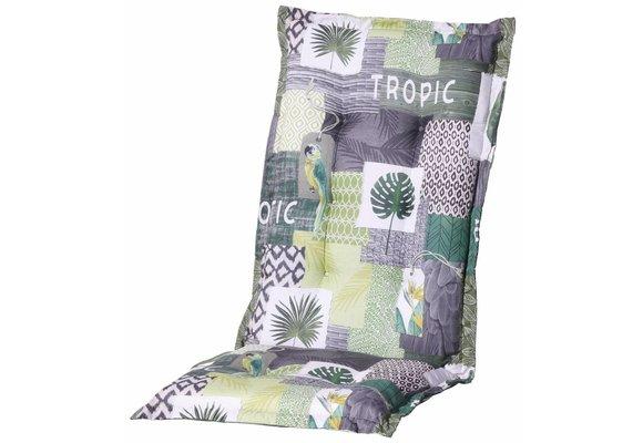 Madison Tuinstoelkussen hoog | Tropic Green | 123x50cm