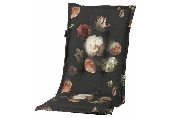 Madison Tuinstoelkussen hoog | Dark Flower | 123x50cm