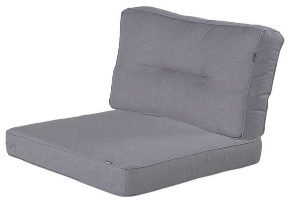Hartman Loungekussens | Havana Seal Grey | 4 SETS | 75x75 + 75x40cm