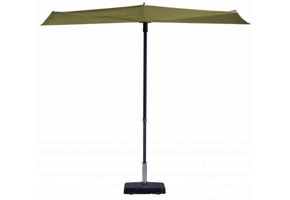 Madison Parasol | Sun Wave | Sage Green | 270x150cm