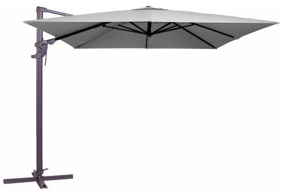 Madison Parasol | Monaco Flex II | Light Grey | 300x300cm