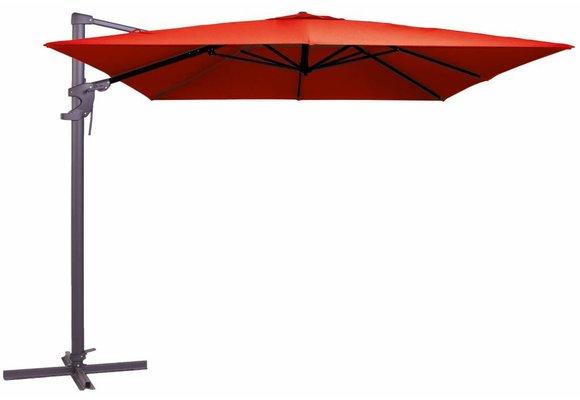 Madison Parasol   Monaco Flex II   Brick Red   300x300cm