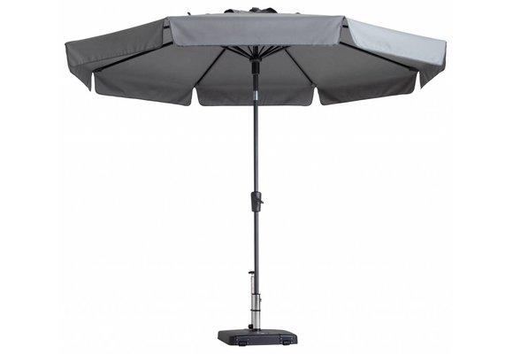 Madison Parasol | Flores Luxe | Light Grey | ∅300cm