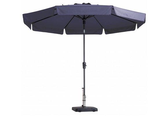 Madison Parasol | Flores Luxe | Safier Blue | ∅300cm