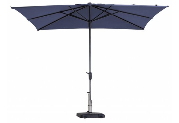 Madison Parasol | Syros Luxe Square | Safier Blue | 280x280cm