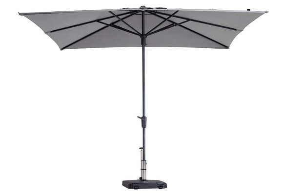 Madison Parasol | Syros Luxe Square | Light Grey | 280x280cm