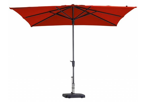 Madison Parasol | Syros Luxe Square | Brick Red | 280x280cm