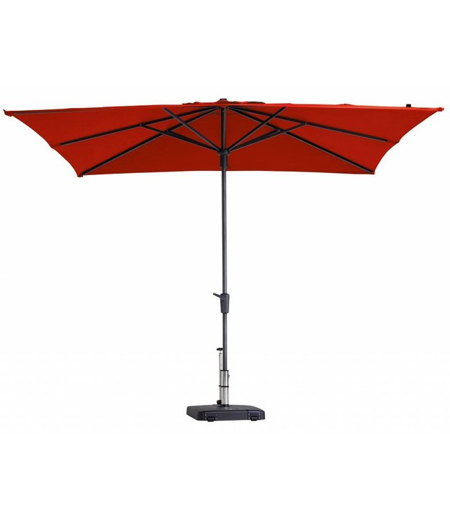 Madison Madison Parasol | Syros Luxe Square | Brick Red | 280x280cm