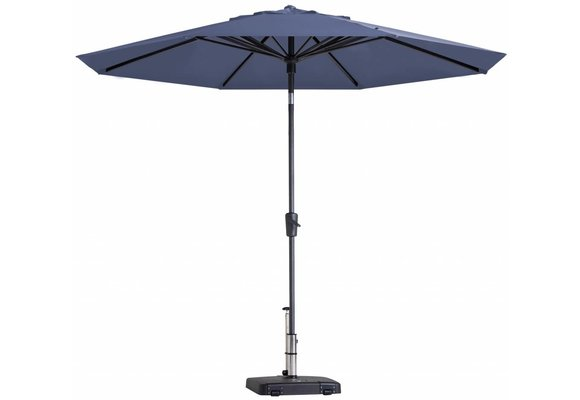 Madison Parasol | Paros Luxe Round | Safier Blue | ∅300cm