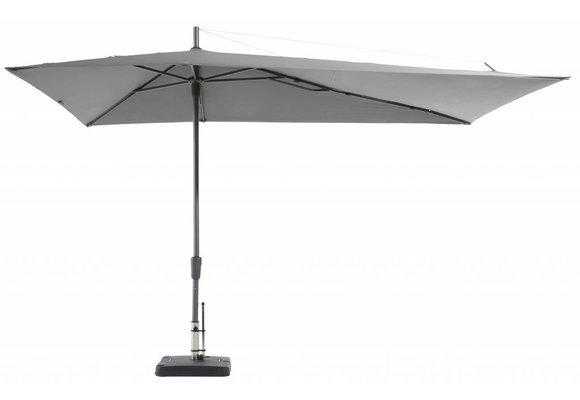 Madison Parasol | Asymetric Sideway | Light Grey | 220x360cm