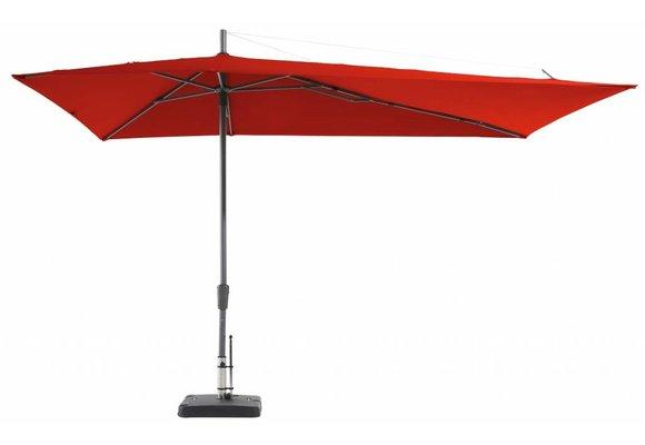Madison Parasol | Asymetric Sideway | Brick Red | 220x360cm