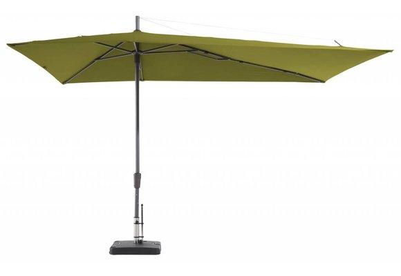 Madison Parasol   Asymetric Sideway   Sage Green   220x360cm