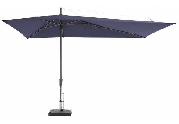 Madison Parasol | Asymetric Sideway | Safier Blue | 220x360cm