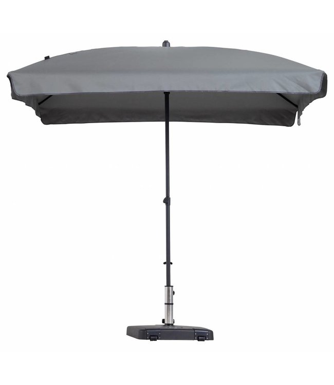 Madison Madison Parasol | Patmos Luxe | Light Grey | 210x140cm