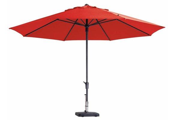Madison Parasol | Timor Luxe | Brick Red | ∅400cm