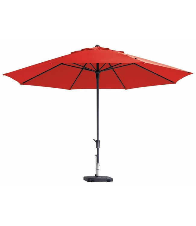 Madison Madison Parasol | Timor Luxe | Brick Red | ∅400cm