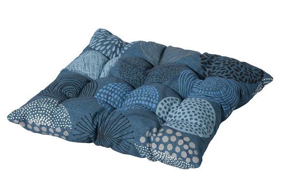 Madison Toscane kussen | Fantasy Blue | 46x46cm