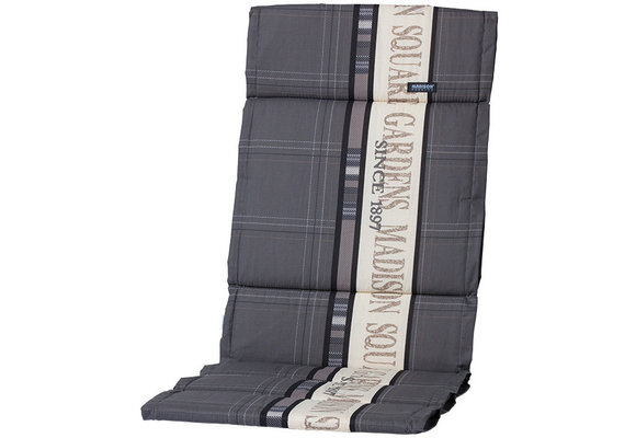 Madison Fiber de luxe kussen | Madison Garden Grey | 125x50cm